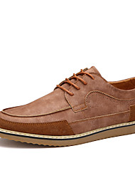 British Style Men's Business Casual Breathable Oxford Flats Shoes in Daily Life for Trip Or Party