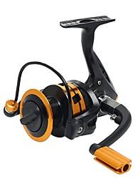 Molinetes Rotativos 5:2:1 10 Rolamentos Trocável Pesca de Mar / Pesca Geral-DY4000 DY