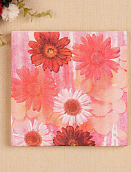 100% virgin pulp 20pcs Daisy Wedding Napkins