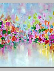 peintures à l'huile abstraites peintes à la main sur toile art mural pour la décoration de la maison avec un cadre étiré prêt à accrocher