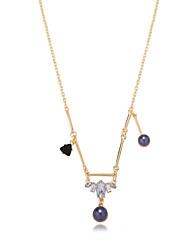 Ожерелье Ожерелья с подвесками Бижутерия Повседневные Богемия Стиль Сплав Золотой 1шт Подарок
