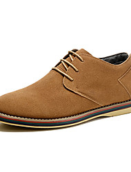 Chaussures Hommes-Extérieure-Bleu / Jaune / Vert / Kaki-Similicuir-Ballerines