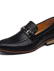 Westland® Men's Oxfords / Plaid Comfort Leather Wedding/Party & Evening / Casual  Slip-on / Black / Brown