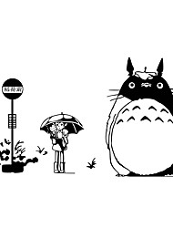 Totoro Wall Stickers Cartoon Wall Stickers Vinyl Removable Decals Films Murals Home Decor