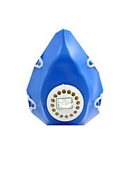 headset rubber gasmaskers geschilderde maskers egocentrisme filtreermaskers