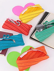 New Multi-Purpose Creative Little Monster Zipper Pencil Case Storage Bag for Glasses