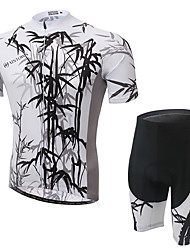 Cycling Jersey with Shorts Men's Short Sleeve Bike Clothing Suits Quick Dry Breathable Comfortable Terylene Mesh/Net LYCRA®Classic