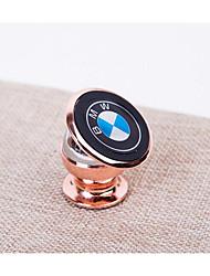 24k supporto metallico cellulare veicolo magnetico montato porta cellulare 360 gradi di rotazione dell'automobile