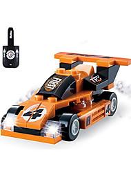 Building Blocks For Gift  Building Blocks Model & Building Toy Car Plastic Above 6 Orange Toys