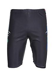 Bottoms Swimwear(Preto) -Homens-Compressão / Confortável