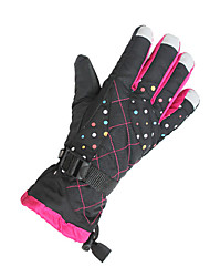 Ski Gloves Winter Gloves Women's / Unisex Activity/ Sports Gloves Keep Warm / Windproof Gloves Ski & Snowboard CanvasCycling Gloves / Ski