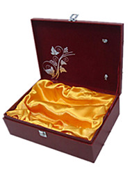 Red Color, Other Material Packaging & Shipping Two-Bottle Wine Gift Box