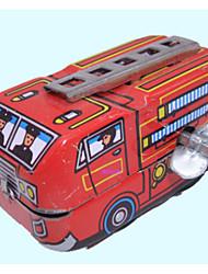 Red Clockwork Toy Fire Engine