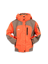 Boy's Sports Color Block Down & Cotton Padded,Polyester Winter Orange
