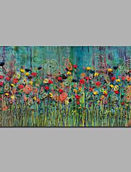 Handmade Floral Oil Paintings Modern Home Wall Art Decor