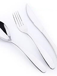 Tainless Steel knife and Fork Western Tableware Three-Piece Suit Western