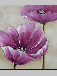 Hand Painted Flower Oil Paintings On Canvas Wall Art Picture For Home Decor With Stretched Frame Ready To Hang 100x100cm