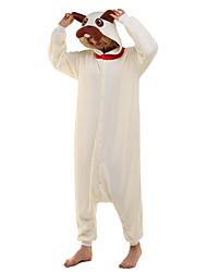 NEWCOSPLAY Pug Dog Polar Fleece Adult Kigurumi Pajama