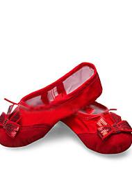 Non Customizable Women's Dance Shoes Leatherette Leatherette Ballet / Dance Sneakers Boots
