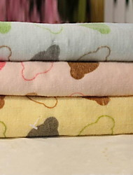Cut Pile Head Cotton Printed Towels