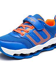 Garçon-Sport-Bleu Rouge-Talon PlatChaussures d'Athlétisme-Tissu