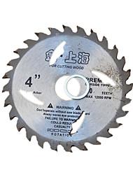 hoja de aleación de carpintero (especificación: 100 * 20 * 2 mm; tres de la venta)
