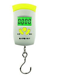 alta precisão balança eletrônica portátil (máximo da escala: 50kg)