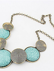 Necklace Statement Necklaces Jewelry Daily / Casual Bohemia Style / Personality Alloy Silver 1pc Gift