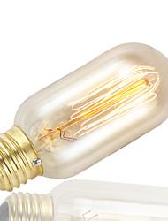 ampoule edison Gmy 1pc t45 bulbe cru 40w e27 AC220-240V décorer ampoule