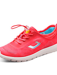 Girl's Sneakers Spring / Summer / Fall Comfort / Round Toe / Closed Toe Tulle Casual Flat Heel Slip-on Pink Sneaker