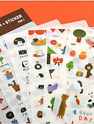 Birthday/Festival 1set Paper  Stickers