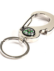 Compass Rudder Glossy Alloy Keychain Keyrings Best Gifts