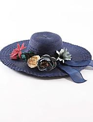 Mujer Sombrero para el sol Casual-Verano-Otro