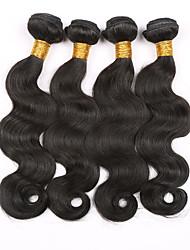 Brazilian Virgin Hair Body Wave 4 Bundles eunice Hair Brazilian Body Wave 7A Grade Unprocessed human hair weave