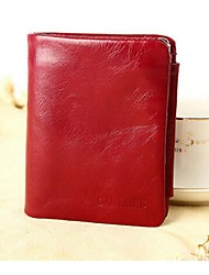 Women Cowhide Professioanl Use Wallet