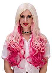 Three color gradient long hair wig.WIG LOLITA, Halloween Wig, color wig, fashion wig, natural wig, COSPLAY wig.