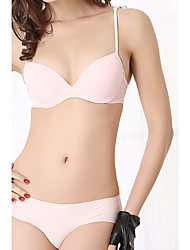 Demi-cup Bras & Panties Sets,Adjustable Spandex