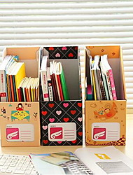 Desktop Shelf Paper Document Storage Box