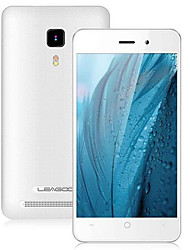 "Leagoo Leagoo Z1 6.0 "" Android 5.1 Smartphone 3G ( Double SIM Quad Core 1.3 MP / 3 MP 512MB + 8 GB Noir / Doré / Blanc )"