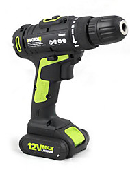 Rechargeable Lithium Keshi Wu161.1 Two-Speed Hand Drill 12V Lithium Tool Multifunction Household