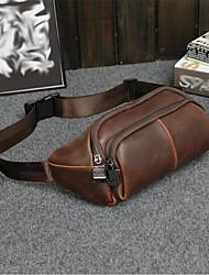 Bolsa de Cintura-Masculino-Couro Ecológico-Casual / Ao Ar Livre