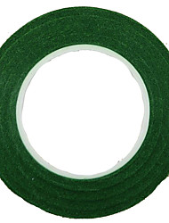 DIY Wreath 1.2CM Wide Green Garland Handmade Paper Tape 30Y