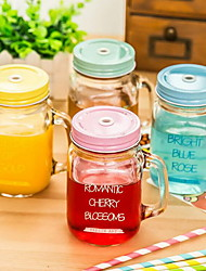 Gradient Mason Jars Transparent Glass(random style)