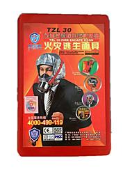 filtre à feu auto appareil respiratoire contenu (gaz de travail)