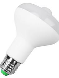 9W B22 / E26/E27 Ampoules LED Intelligentes A90 9 LED Haute Puissance 500-650 lm Blanc Chaud Capteur AC 85-265 V 1 pièce