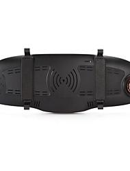 registrador de conducción inteligente espejo retrovisor de navegación de perro electrónico de la máquina de 7 pulgadas hd 3g doble lente