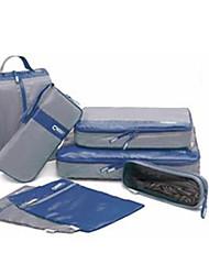 Travel Waterproof 7 Pieces Of Clothing Storage Bag.