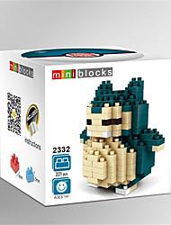 Action Figure per il regalo Costruzioni Modellino e gioco di costruzione Mouse ABS Tutti Verde Giocattoli