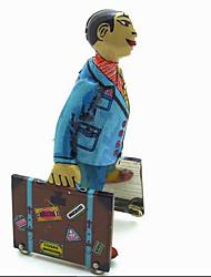 Toy Nouveauté / Jeu de Rôle / Puzzle Toy / Jouet à Remonter Toy Nouveauté / / Carré / / Métal Bleu Pour Enfants