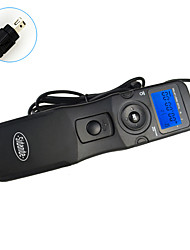 Sidande 7106 LCD Time Lapse Intervalometer Remote Control Timer Shutter Release for Nikon D600 / D7000 / D90